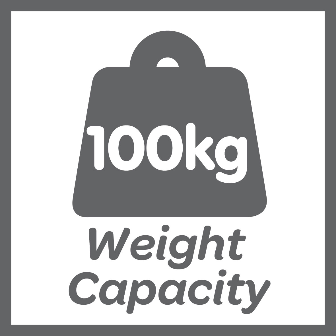 This product has a 100kg weight limit