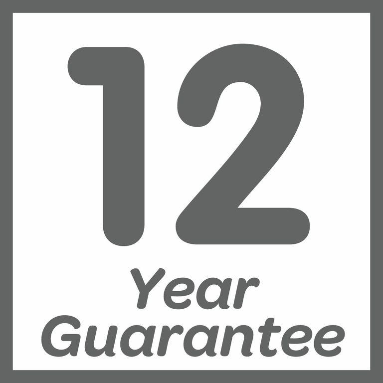 Guaranteed for 12 years