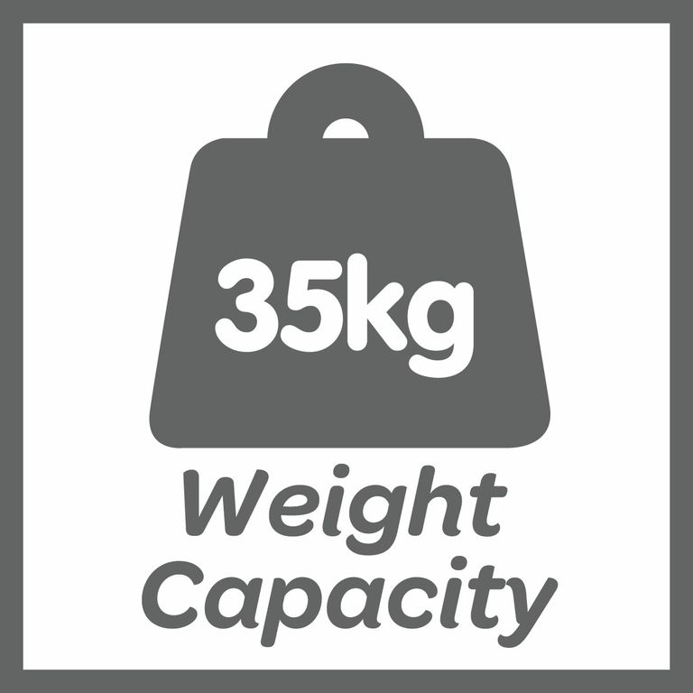 This product has a 35kg weight limit